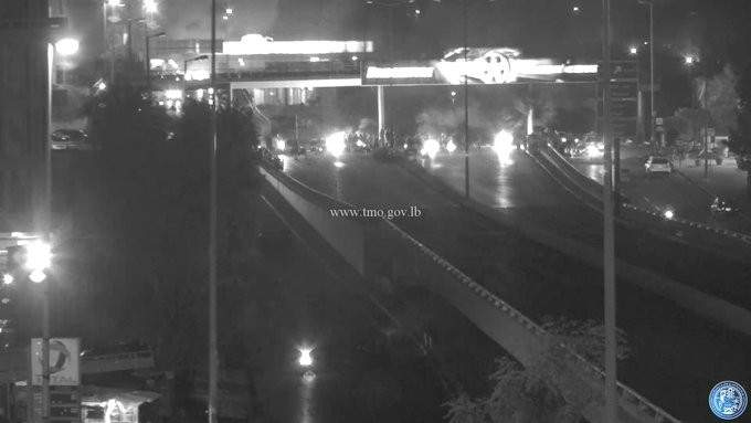 التحكم المروري: قطع الطريق على جسر الكولا بالاتجاهين