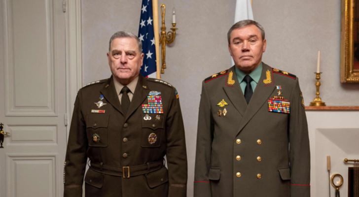 قائدا الجيشين الروسي والأميركي يجتمعان في هلسنكي لست ساعات