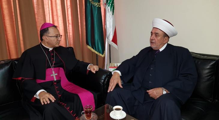 سوسان استقبل السفير البابوي: نرفض  الأصوات التي تسيء للعيش المشترك