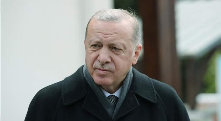 اردوغان: علاقاتنا مع إسرائيل لن تصل للمستوى المأمول إذا واصلت موقفها تجاه المسلمين
