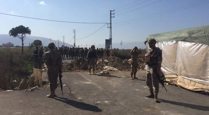 النشرة: الجيش يفتح طرقات غزة جب جنين والمرج في البقاع الغربي