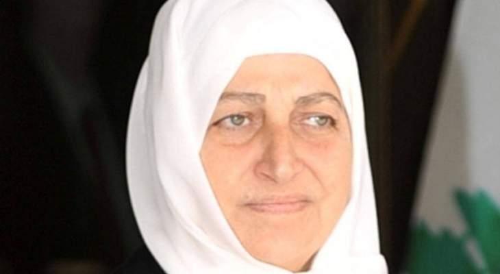 بهية الحريري طالبت وزير المالية بحقوق   المدارس الرسمية والمجانية