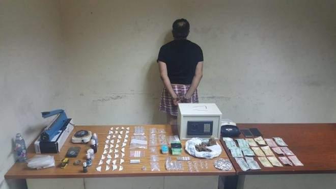 شعبة المعلومات توقف مروج مخدرات ينشط في محلة الدورة