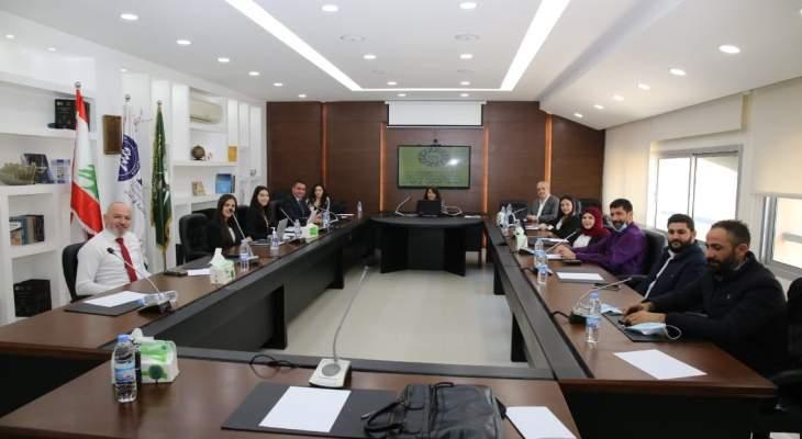 افتتاح مركز حقوق الإنسان بالجامعة الإسلامية في لبنان