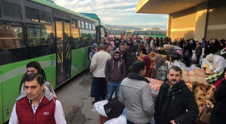 الأمن العام أمن العودة الطوعية لـ 1498 نازحا سوريا من مناطق مختلفة