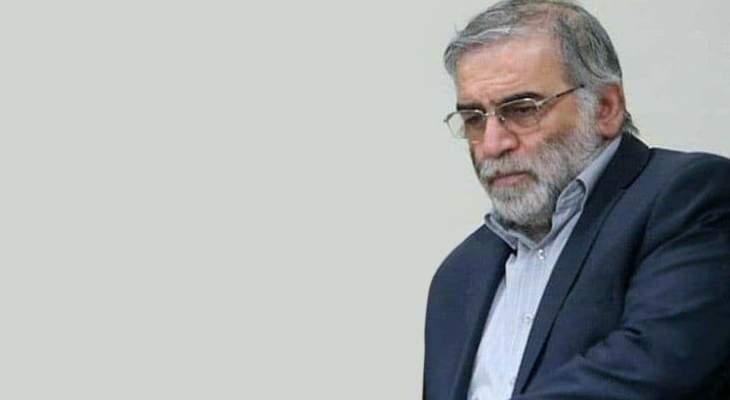 الخارجية الألمانية: اغتيال زاده يزيد في تعقيد الوضع في الشرق الأوسط