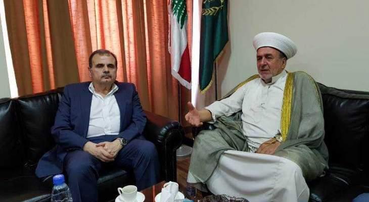 البزري زار سوسان مطالبا بمجلس إنماء لمدينة صيدا أسوة بالمناطق المحرومة
