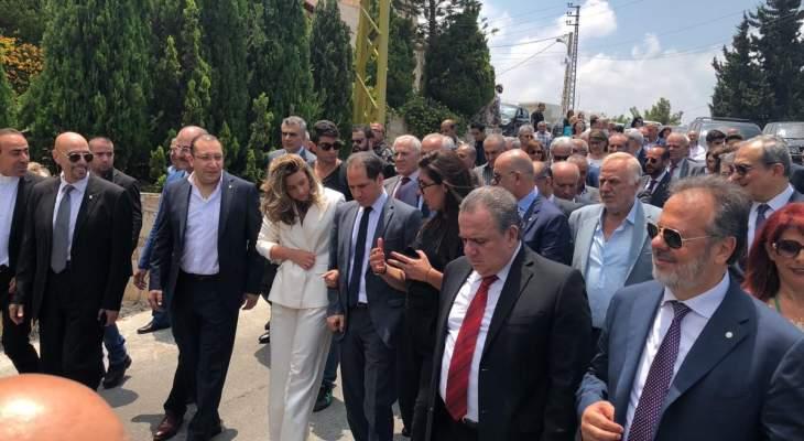 افتتاح فرع لحزب الكتائب في منطقة الرميلة