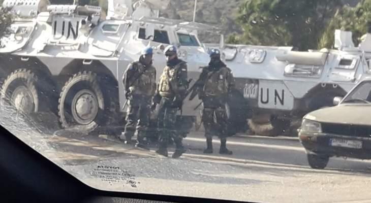 النشرة: دورية اسرائيلية مشطت الطريق العسكري ما بين العديسة والمطلة