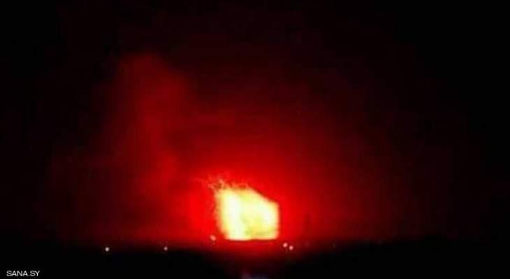 سانا:انفجار صهريج في الشركة السورية لنقل النفط الخام في حمص