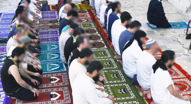 قوى الأمن: اقامة صلاة عيد الفطر في سجن رومية