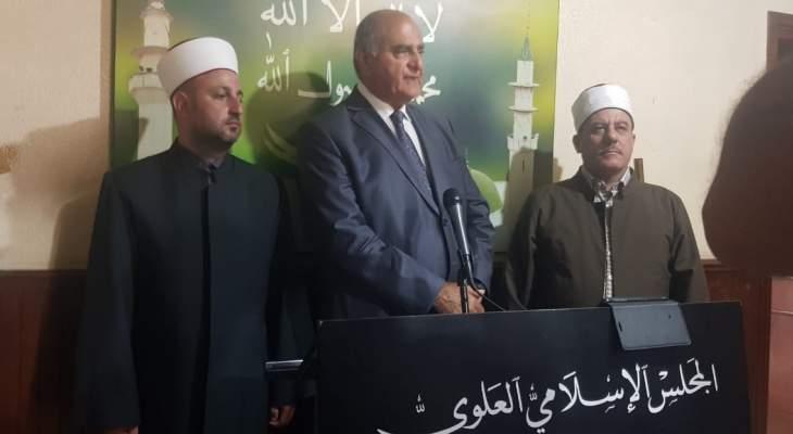 الخطيب موفدا من باسيل يزور ربيع كبارة ومطرانية طرابلس والمجلس العلوي