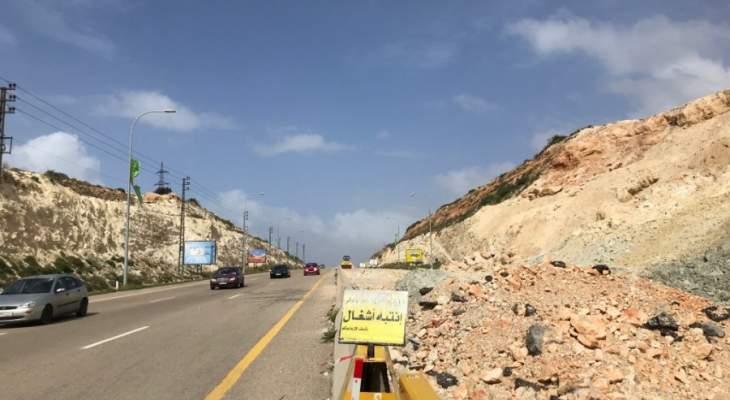 رئيس بلدية برج رحال:  إجراءات الصيانة أوتوستراد الزهراني-القاسمية تقتصر على إزالة الردميات