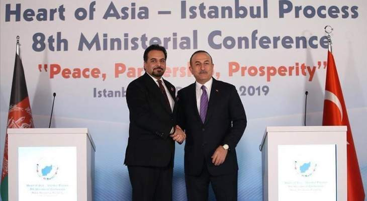 جاويش أوغلو: تركيا ستواصل وجودها في أفغانستان طالما كانت هناك حاجة