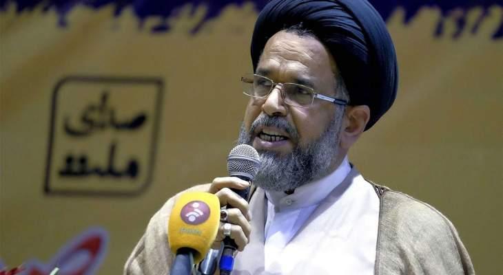 وزير الأمن الإيراني: القوى الأمنية أحبطت كل الأحابيل والخدع للإضرار بالشعب والبلاد