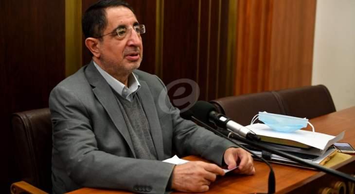 الحاج حسن أكد أن ملف المديرية العامة للبريد اصبح لدى ديوان المحاسبة