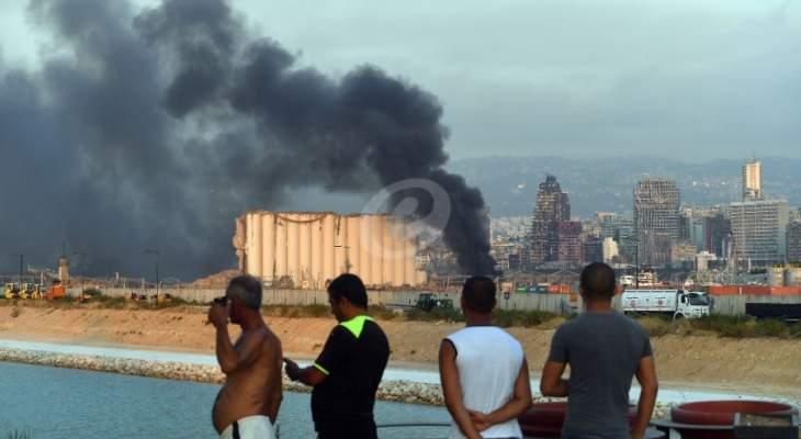 مصدر بوزارة الاقتصاد للشرق الأوسط: نتابع موضوع تعويض شركات التأمين للمتضررين من انفجار المرفأ
