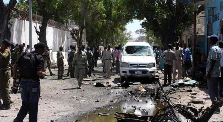 انفجار سيارة مفخخة استهدفت مجموعة من المتعاقدين الأتراك بمدينة أفجوي الصومالية
