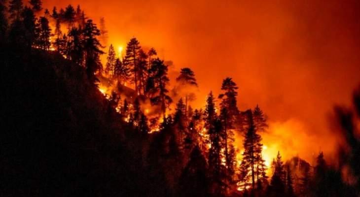 الراي: مشاركة روسية - سورية في إخماد النيران في شمال لبنان