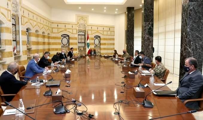 الرئيس عون دعا الى معالجة مسألة مغادرة الأراضي اللبنانية عبر البحر بطريقة غير شرعية