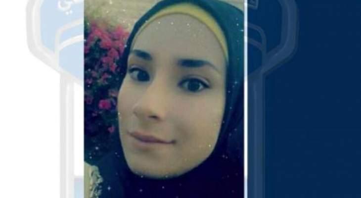 قوى الأمن عممت صورة مفقودة غادرت منزل أحد أقاربها بعكار متجهة إلى البداوي ولم تعد