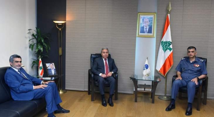 اللواء عثمان بحث مع وزير السياحة والشؤون الاجتماعية الأوضاع العامّة
