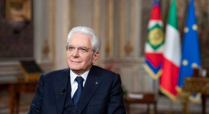 الرئيس الإيطالي امهل الأحزاب أربعة أيام لإنهاء مفاوضات تشكيل حكومة جديدة