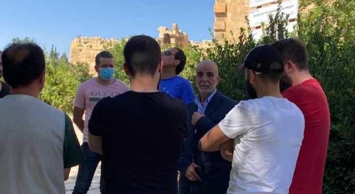 قلعة بعلبك افتتحت أبوابها لاستقبال الزائرين وبلوق أعطى التوجيهات الإدارية اللازمة