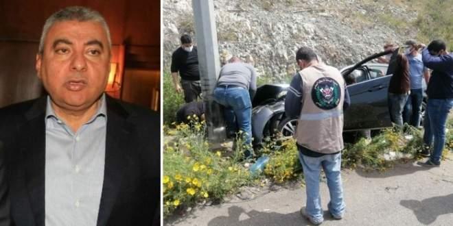 وفاة رئيس غرفة التجارة والصناعة والزراعة في صيدا والجنوب بحادث سير