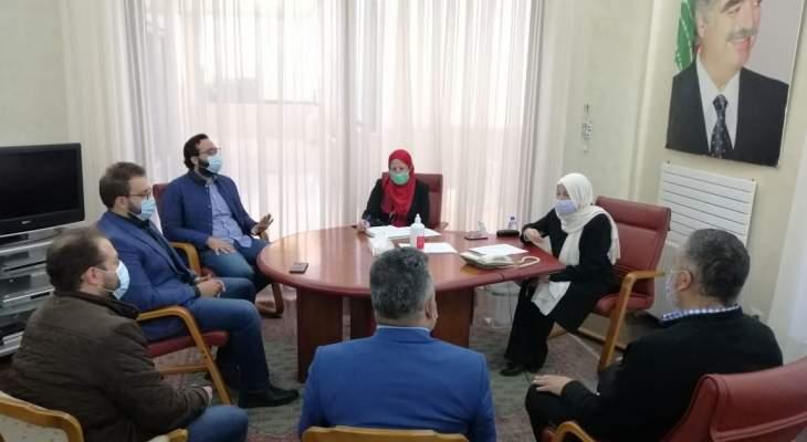 الحريري بحثت مع وفد من تجمع رجال الأعمال الاوضاع العامة وما يشهده لبنان