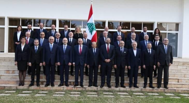 مجلس الامن رحب بتشكيل الحكومة ودعا الأفرقاء للالتزام بسياسة النأي بالنفس