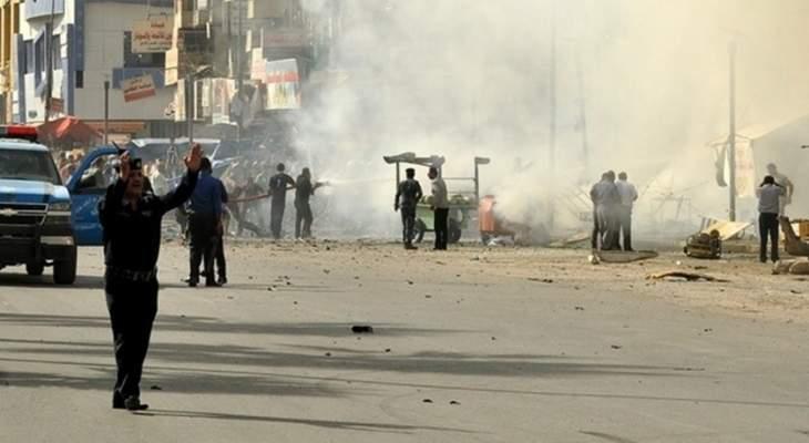 عمليات بغداد: قتلى وجرحى بتفجير انتحاري في ساحة الطيران وسط بغداد