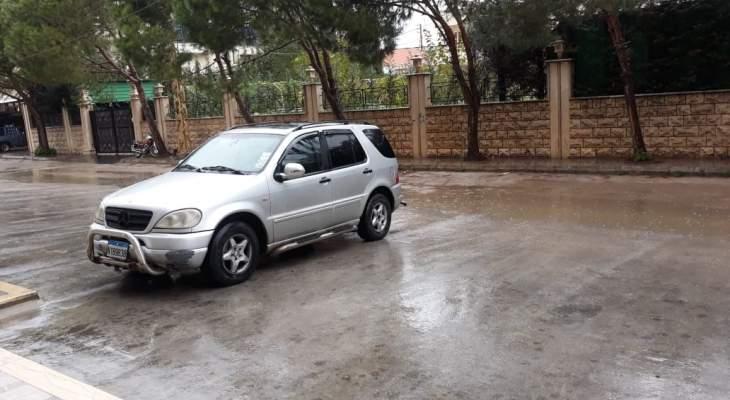 النشرة: طقس عاصف وتساقط أمطار غزيرة في منطقتي النبطية واقليم التفاح