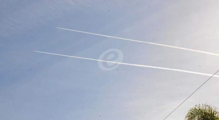 النشرة: تحليق للطيران الإسرائيلي فوق النبطية وبلداتها وبشكل منخفض