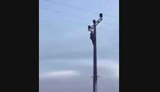 حملة تفتيش لكهرباء لبنان في الدوير لازالة التعديات على الشبكة