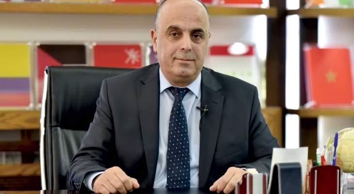 ابو فيصل: لإعادة النظر بمخصصات البعثات الدبلوماسية لحين تجاوز الازمة المالية
