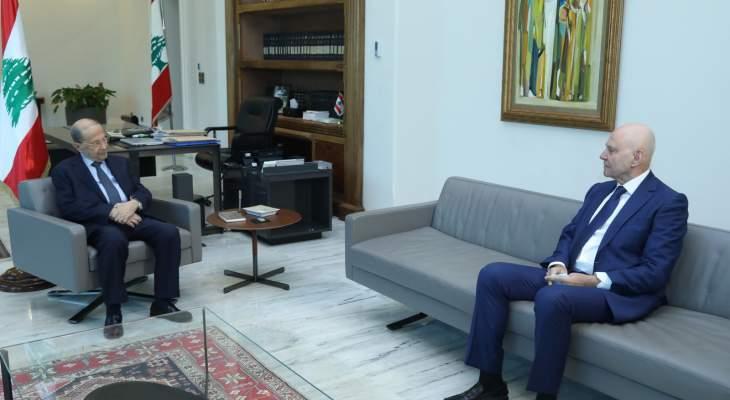 الرئيس عون تابع مسار إجراءات مكافحة التهريب من المعابر اللبنانية