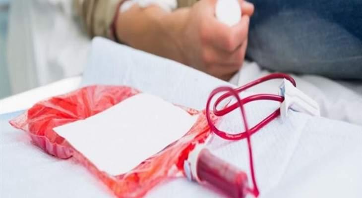 مريض بحاجة ماسة إلى 3 وحدات بلاكيت دم من أي فئة في مستشفى أوتيل ديو