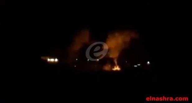 النشرة: طائرات اسرائيلية قصفت مواقع عسكرية في السلسلة الشرقية لجهة سوريا