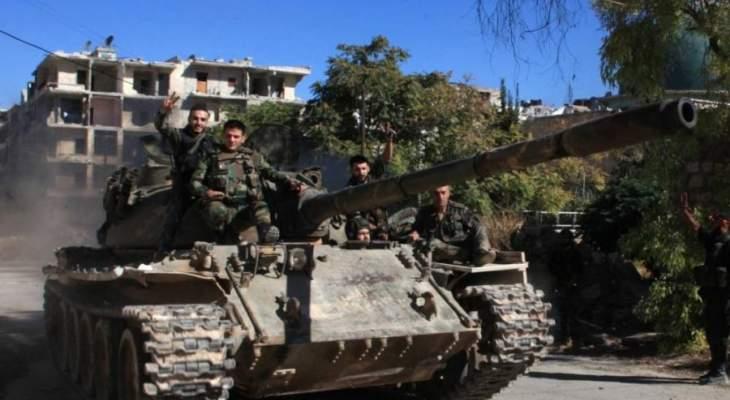 """""""سبوتنيك"""": الجيش السوري يسيطر على خان شيخون في ريف إدلب الجنوبي"""