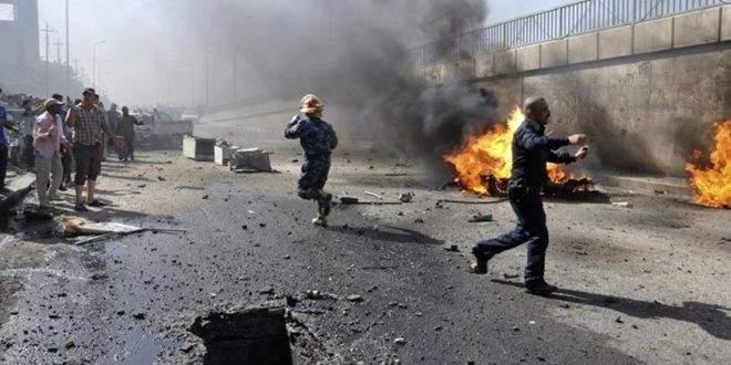 الميادين: إنفجار سيارة مفخخة في العراق وإصابة 6 من حرس الحدود
