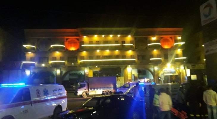 الدفاع المدني:6 جرحى بينهم أربعة أطفال بحادث سير على طريق الشبريحا صور