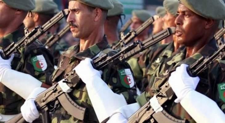 سلطات الجزائر: مقتل جندي وإرهابيَّين بعملية عسكرية غربي العاصمة