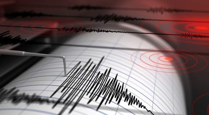 زلزال بقوة 4.8 درجات ضرب سواحل مدينة داتشا في ولاية موغلا غربي تركيا
