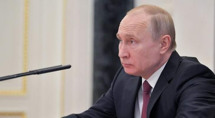 """بوتين يهنئ ماكرون بمناسبة """"يوم الباستيل"""""""
