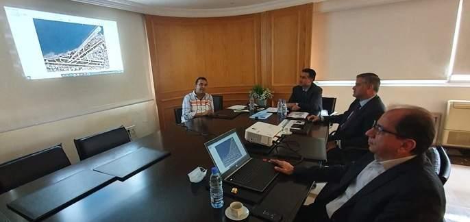 حمية عقد اجتماعا مع مديرية الطيران المدني للبحث في الخطط المستقبلية لبرنامج عملها