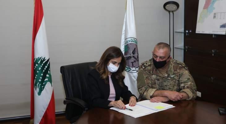 عكر وقعت المرسوم 6433 والمرسوم أصبح في مجلس الوزراء بانتظار توقيع دياب