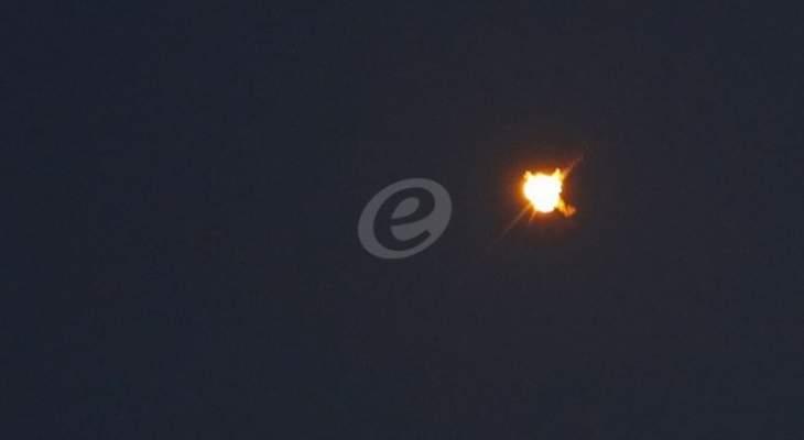 غارات إسرائيلية على مواقع في قطاع غزة ردا على إطلاق صواريخ من القطاع