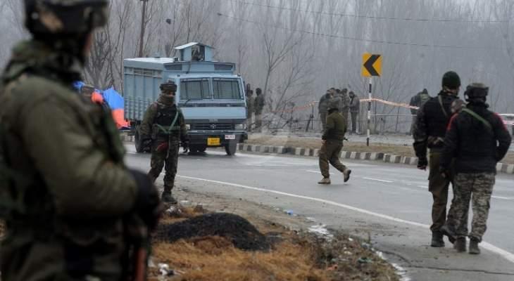 القوات الهندية تصادر أسلحة كانت في طريقها إلى كشمير