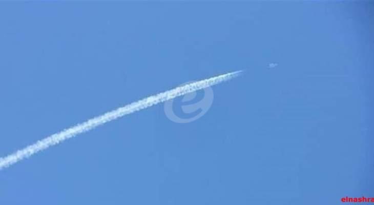 النشرة: تحليق للطيران الإسرائيلي فوق حاصبيا والعرقوب على علو منخفض
